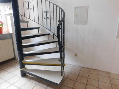 die Treppe  danach