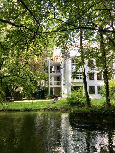 Einmalige 3-Zimmer Wohnung in bester Lage mit direktem Blick in den Englischen Garten