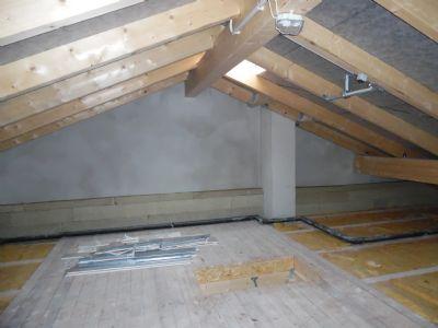 begehbarer Dachboden (Kaltdach)