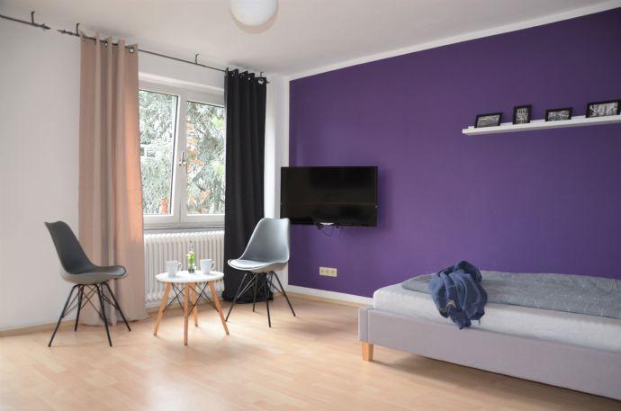 Galluswarte - Möbliertes 1-Zimmer-Apartment mit Balkon
