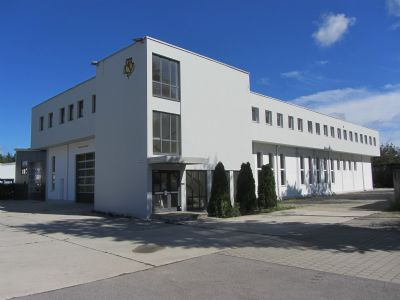 Geretsried / Gartenberg Halle, Geretsried / Gartenberg Hallenfläche