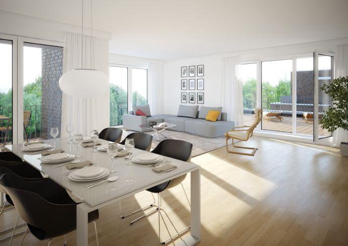 Erstbezug - Exklusives Penthouse im Seelhorster Garten!