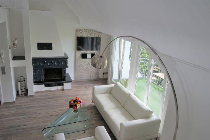 Tolle 3-Zimmer-Maisonette-Wohnung im Zentrum von Rodenkirchen  - möbliert