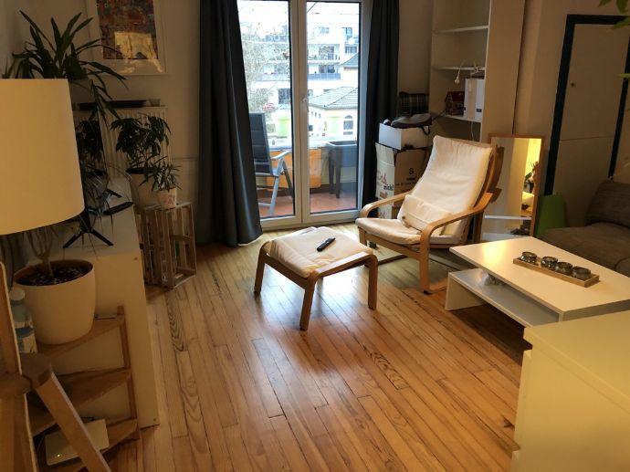 Gemütliche 2 -Zimmer-Wohnung mit Balkon in Merzig