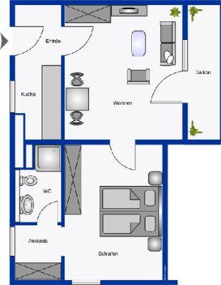 Appartement Typ F