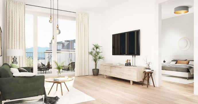 Kapitalanleger aufgepasst 1-Zimmer-Apartment mit Süd-Balkon