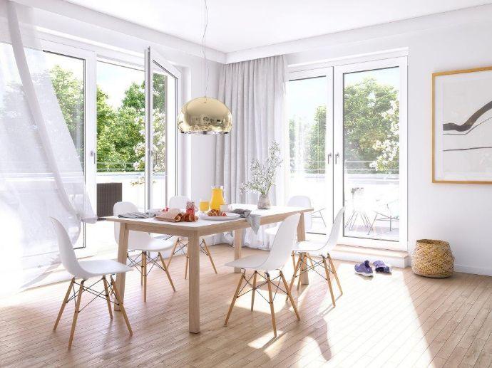Gut geschnittene 2-Zimmerwohnung mit Südwest-Balkon