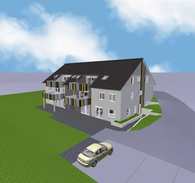 eine wohnung wie eine doppelhaush lfte traumblick ins. Black Bedroom Furniture Sets. Home Design Ideas