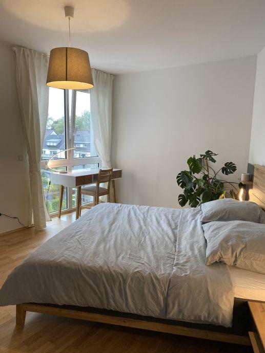 Neubau: Moderne TOP möblierte 2-Zimmer-Wohnung mit Sonnenbalkon Erstbezug