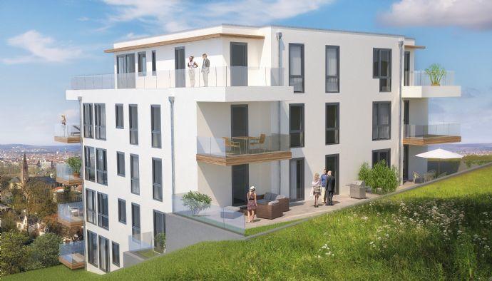 WIB 28 - Großzügiges Wohnerlebnis in bester Wohnlage von Saarbrücken mit unverbaubarem Stadtblick - Bezugsfertig November 2020