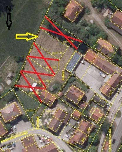 Baugrund für Doppelhaus oder Doppelhaushälfte in Haimhausen - Ottershausen