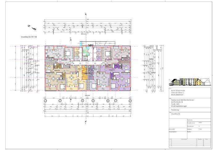 Einziehen und wohlfühlen! 2-Zimmer-Wohnung mit Balkon in Niederstotzingen zu verkaufen