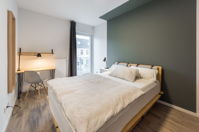 Modern Room in a Newly Built Building