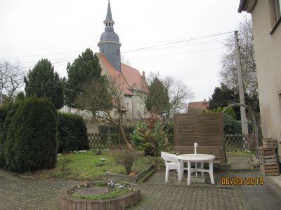 Hausgarten m. Kirchenpanorama