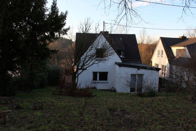 Einfamilienhaus mit Weitblick ins Grüne