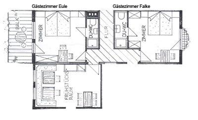 Doppelzimmer Falke