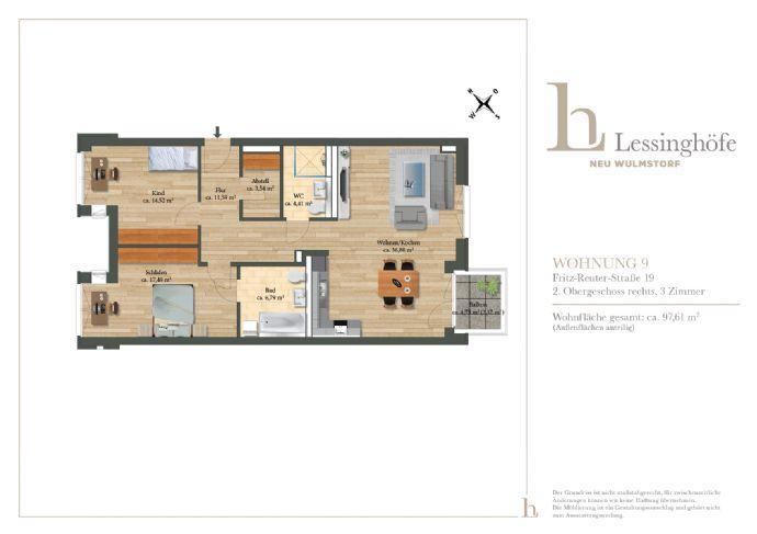 LESSINGHÖFE! Neues Zuhause für Ihre Familie!