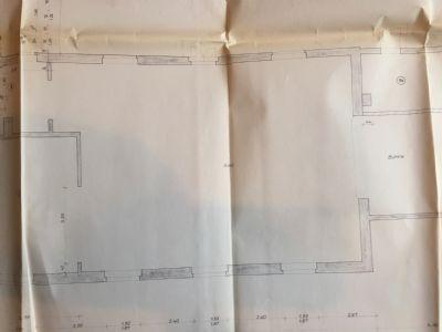 Bild 32 Grundriss Saal mit Bühnenanbau+Heizraum