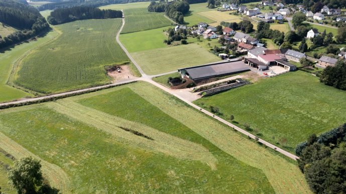 Bauernhof mit Weide- und Ackerflächen