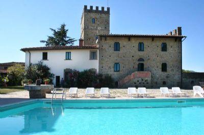 Stalla Capanni - Charakteristische Wohnung in mittelalterlicher Burg in Panoramalage nahe Florenz