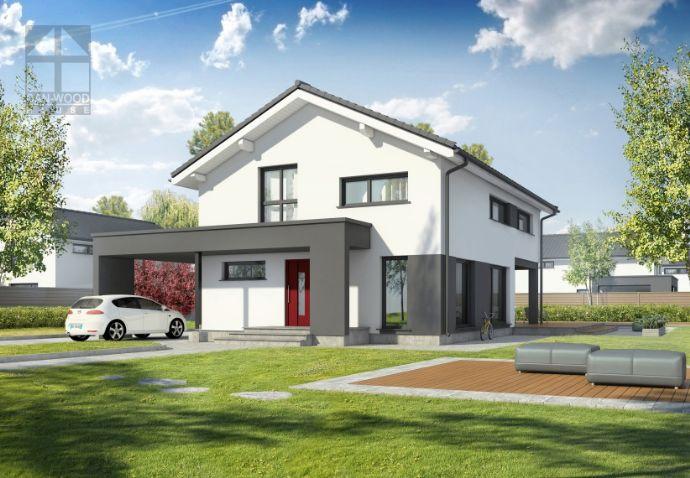 Einfamilienhaus KfW 40+ Standard mit Carport