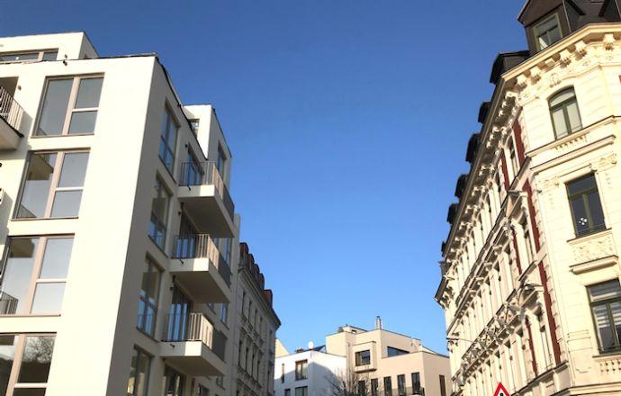 Kapitalanlage: Gehoben ausgestattetes Mehrfamilienhaus (BJ 2017, 9 WE) im Herzen Leipzigs
