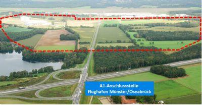 A1-Anschluss und AirportPark FMO