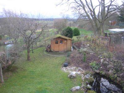 Gartenblick vom Studio mit Weitsicht