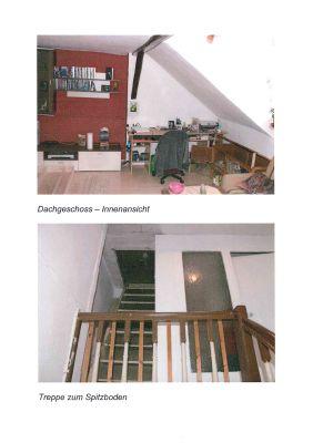 Wohnung Dachgeschoß/ Treppe zum Boden