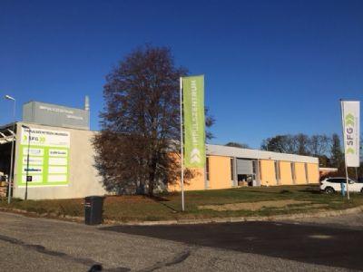 Mureck Halle, Mureck Hallenfläche