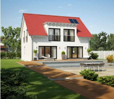 Massiv aus dem natürlichen Baustoff Ton für die Zukunft gebaut - Wohnen in Ihrem neuen Zuhause