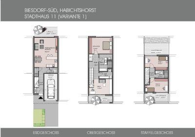 Stadthaus-Landmark 1-Grundrisse