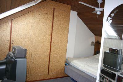 Schlafzimmer in der 2. Ebene