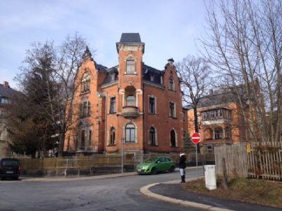 historische Stadtvilla (Turm/Erker + 2 Terrassen)