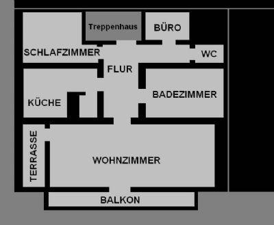 Plan Wohnung DG