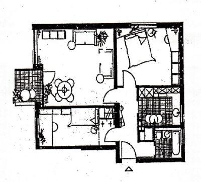 vermietete 3 zimmer eigentumswohnung mit balkon und 3 pkw stellpl tze in spandau kapitalanlage. Black Bedroom Furniture Sets. Home Design Ideas