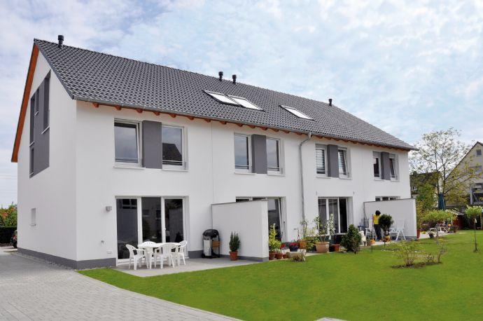 Reihenhaus Statt Wohnung Neubau Von Reihenhäusern Mit 122 M² Wfl