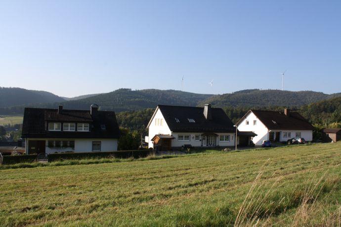 Sofort bebaubare Grundstücke über der Stadt Bad Laasphe