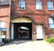 Zugang zum schönen Innenhof