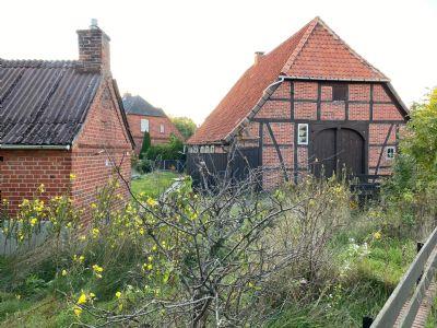 Historischer Fachwerkhof in der Lüneburger Heide eine Stunde von Hamburg