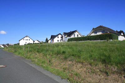 Baugrundstücke im Neubaugebiet von Bad Laasphe