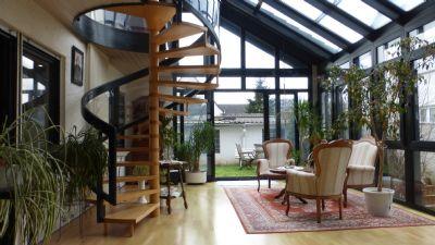 neuer preis einfamilienhaus mit gro em wintergarten voll unterkellert garage und sch nem. Black Bedroom Furniture Sets. Home Design Ideas