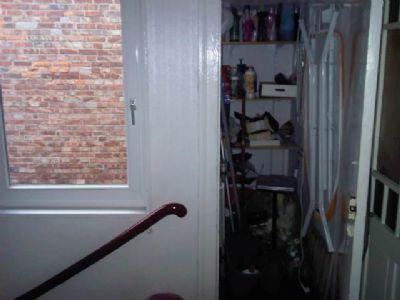 Treppenhaus Abstellraum