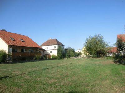 Erschlossener Bauplatz in Knetzgau zu verkaufen