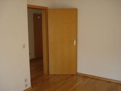 Blick aus Schl.-Zimmer