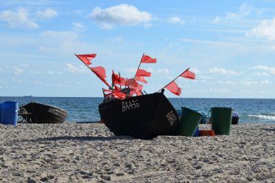 Boote am Fischerstrand