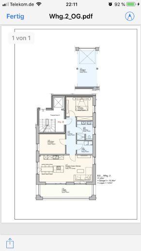 3 Zimmer Wohnung im 1