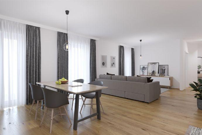 Moderne Drei-Zimmer-Eigentumswohnung mit Terrasse