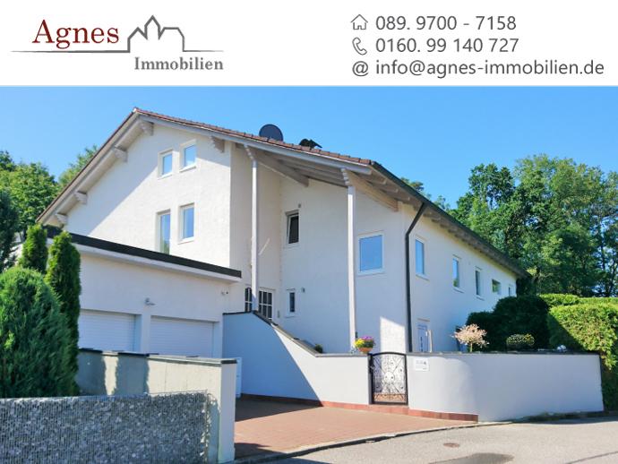 Exklusives Einfamilienhaus mit Fernblick in Hanglage!