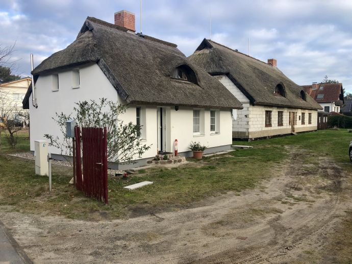 Ihr Traum vom Reethaus mit großem Grundstück in bester Lage, im Ostseebad Baabe, wird wahr!